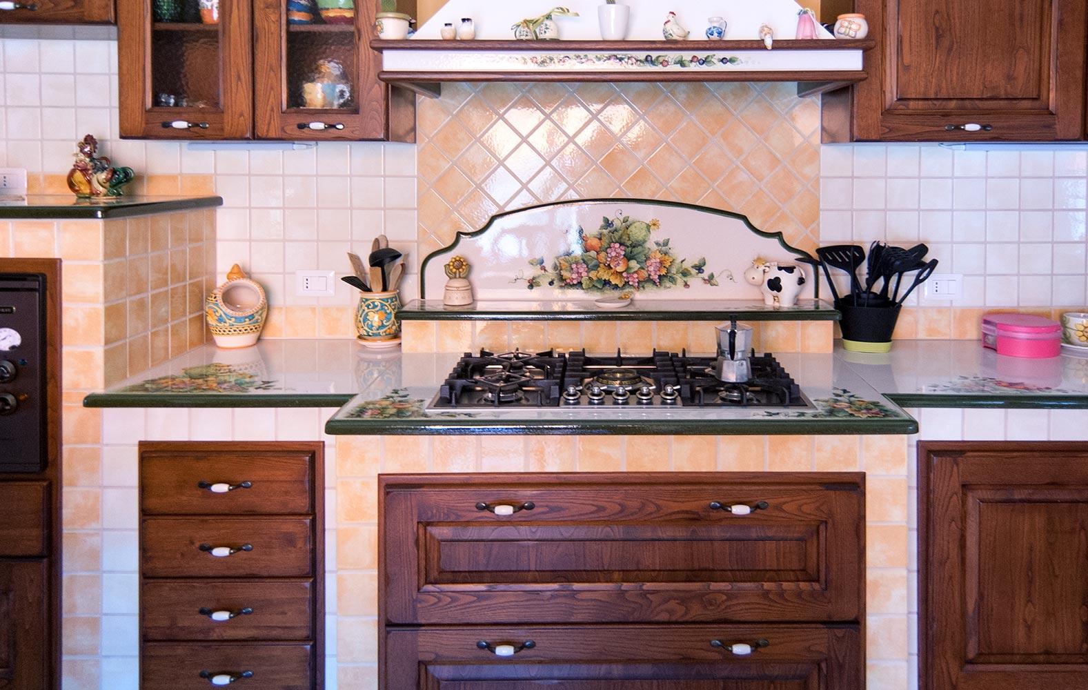 Forno Cucina In Muratura cucine in muratura smontabile modello pescara | artesole