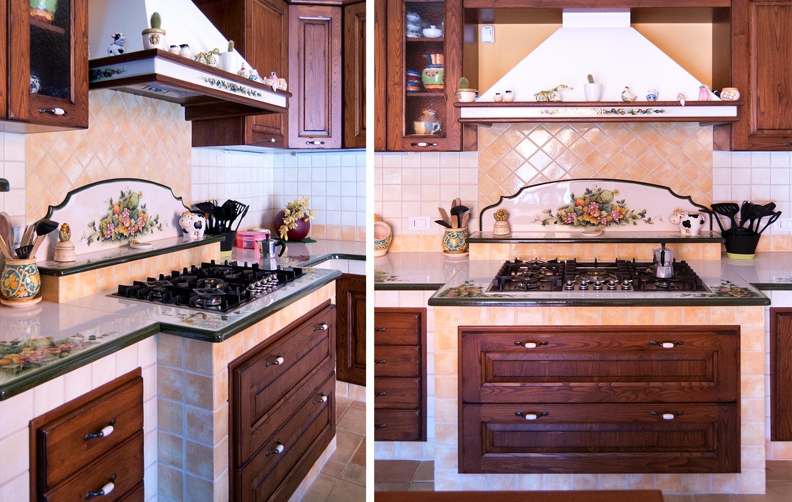 Cucine in muratura smontabile modello Pescara | Artesole