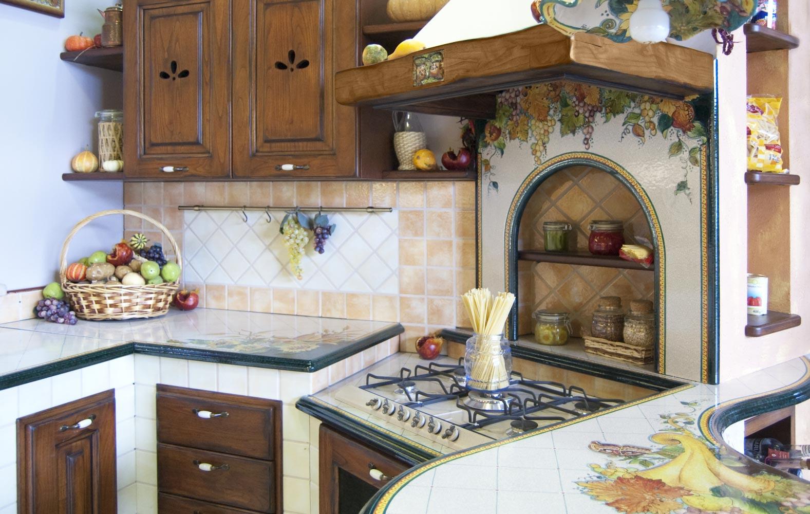 Cucine in finta muratura smontabile modello milano for Cucine muratura immagini