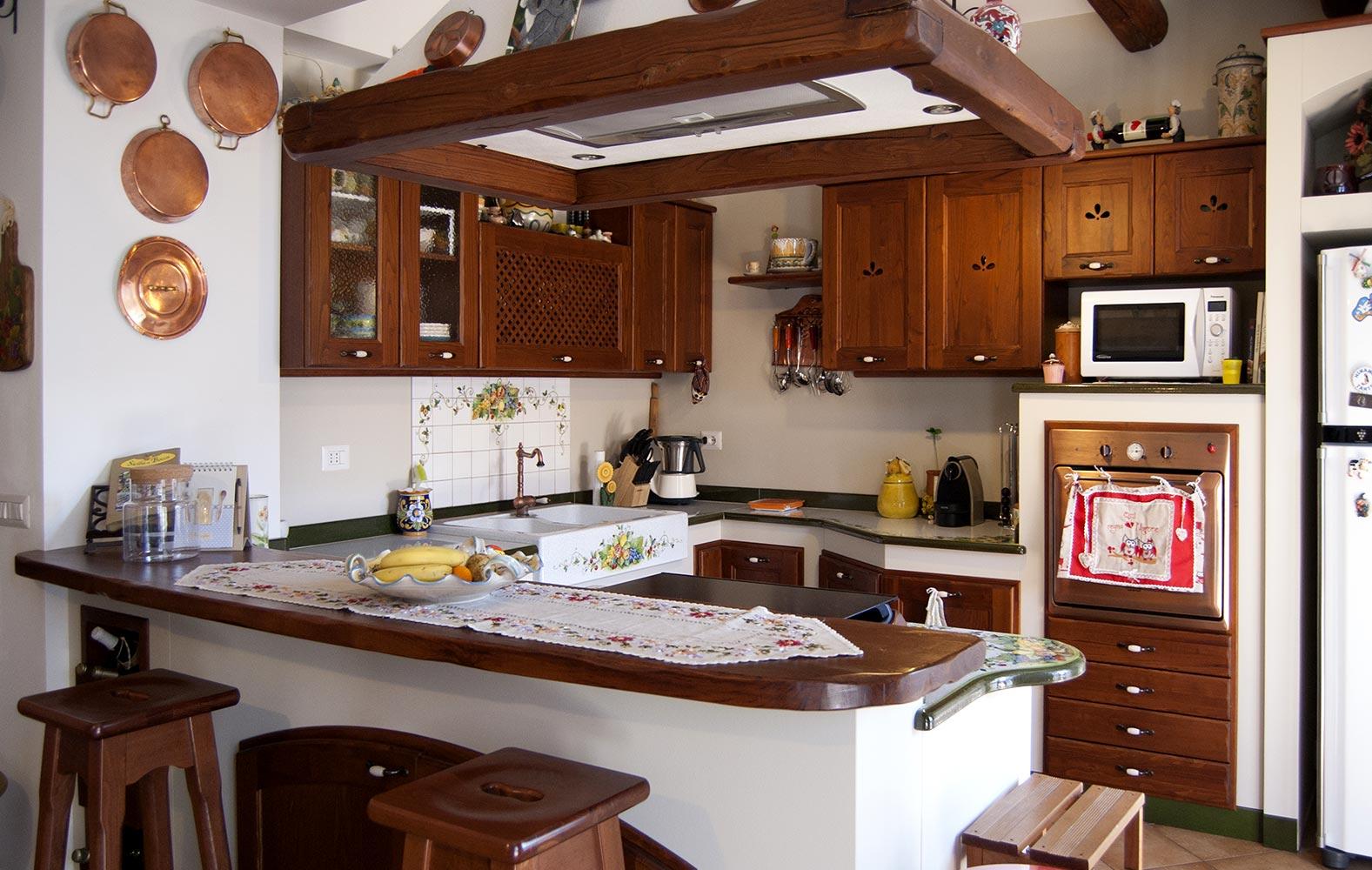 Cucine moderne ecologiche in muratura smontabile modello giarre - Arte sole cucine ...