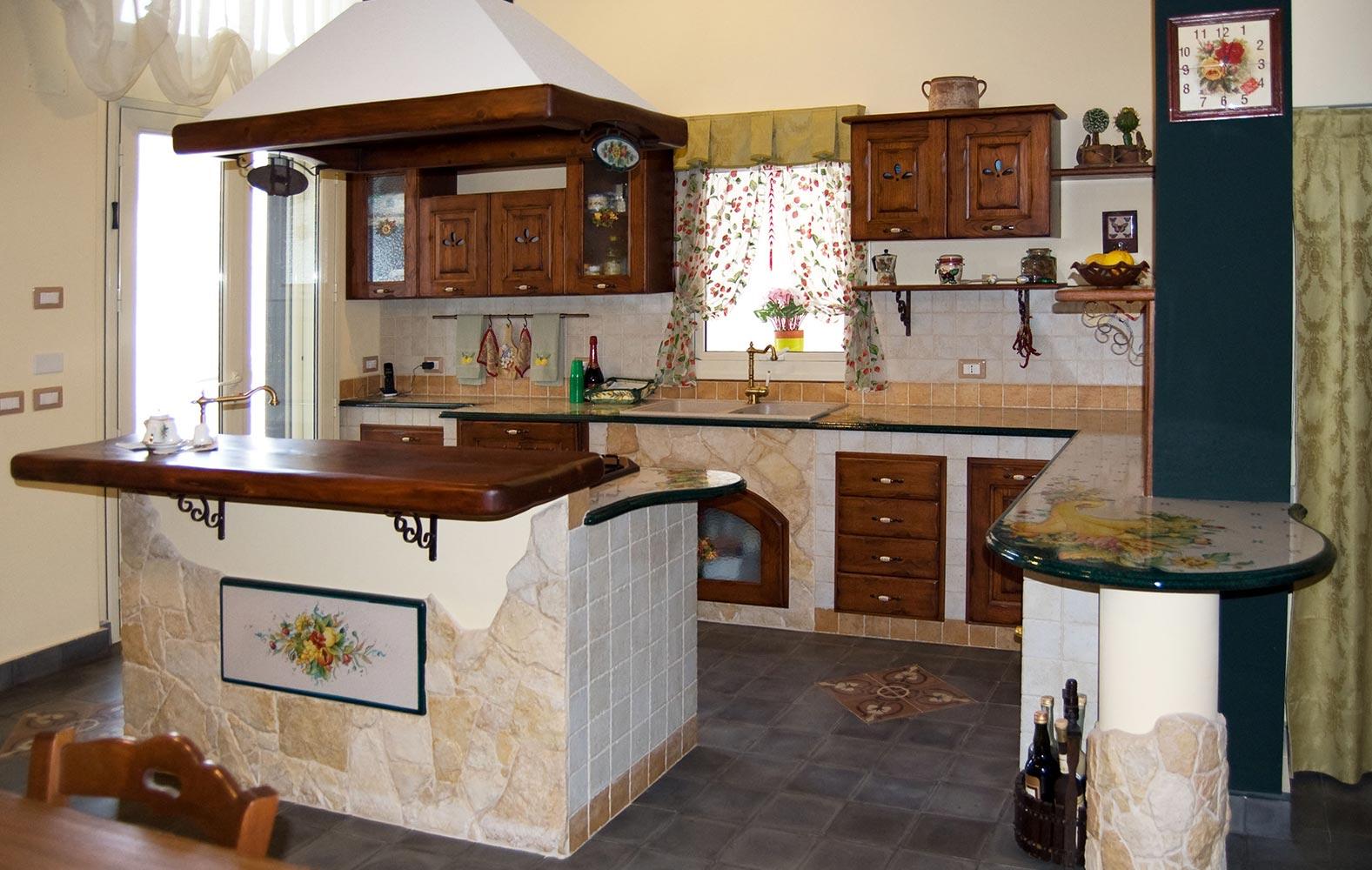 Cucine Moderne Lombardia.Cucine In Finta Muratura Smontabile Modello Lombardia