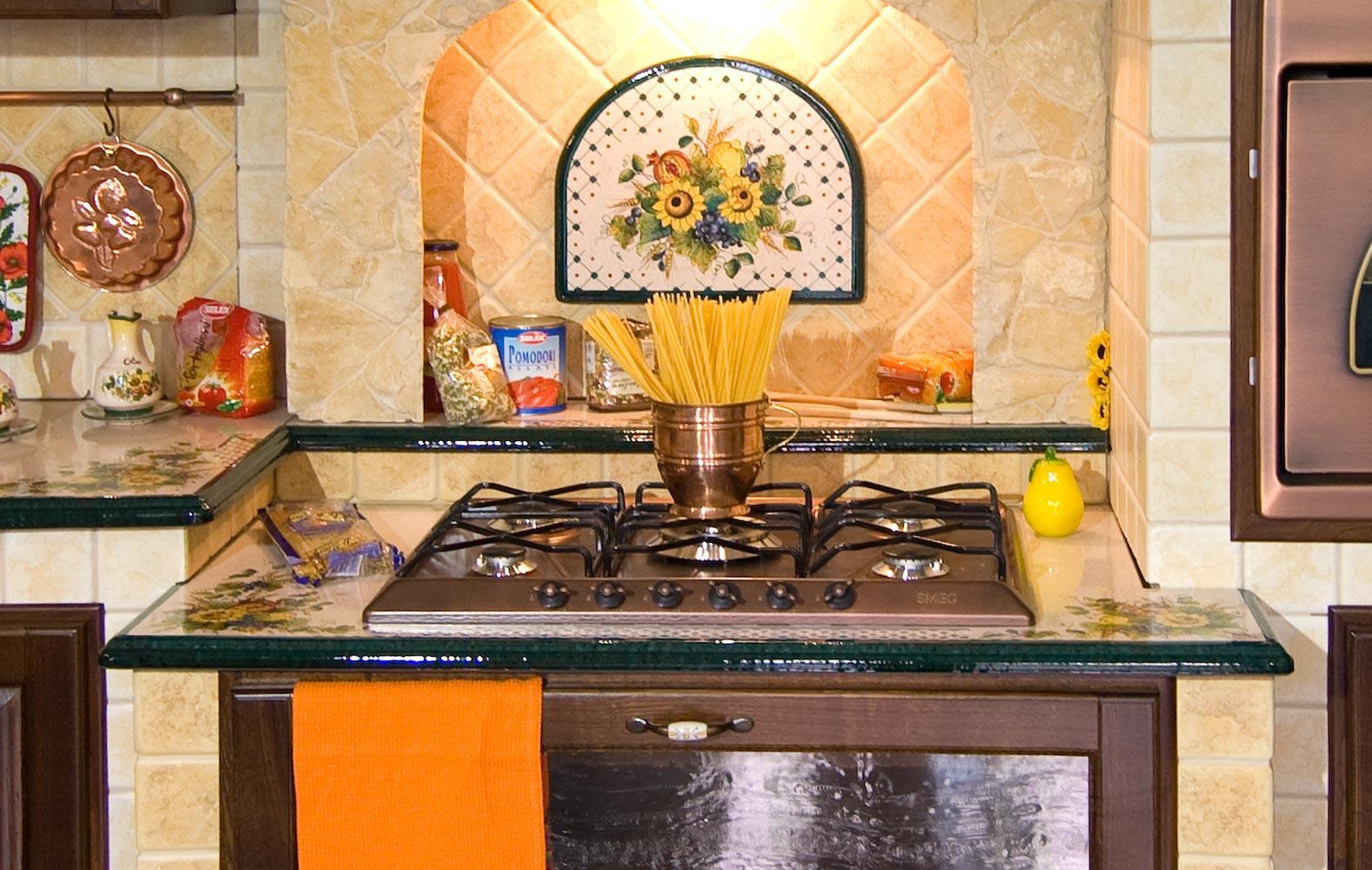 Piano Cottura Per Cucina Muratura.Cucine In Muratura Componibile Modello Brianza Artesole