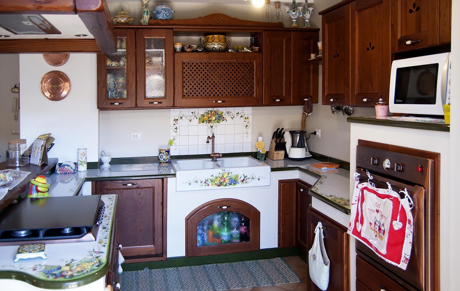 Penisola Cucina In Muratura cucine moderne ecologiche in muratura smontabile modello giarre