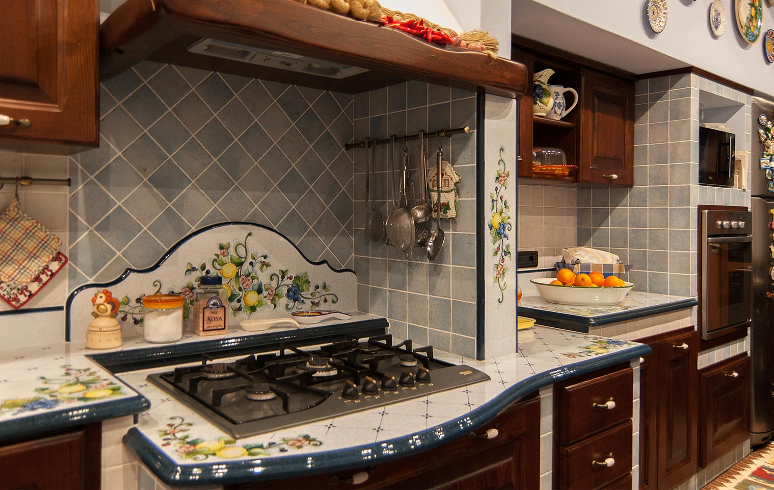 Piano Cottura In Muratura cucine in finta muratura smontabile modello firenze