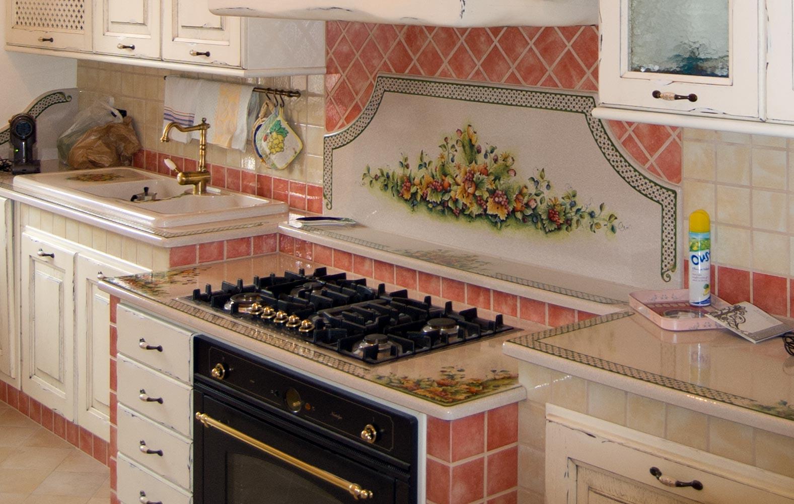 Piani Per Cucine In Muratura le cucine rustiche d'altri tempi realizzate su misura