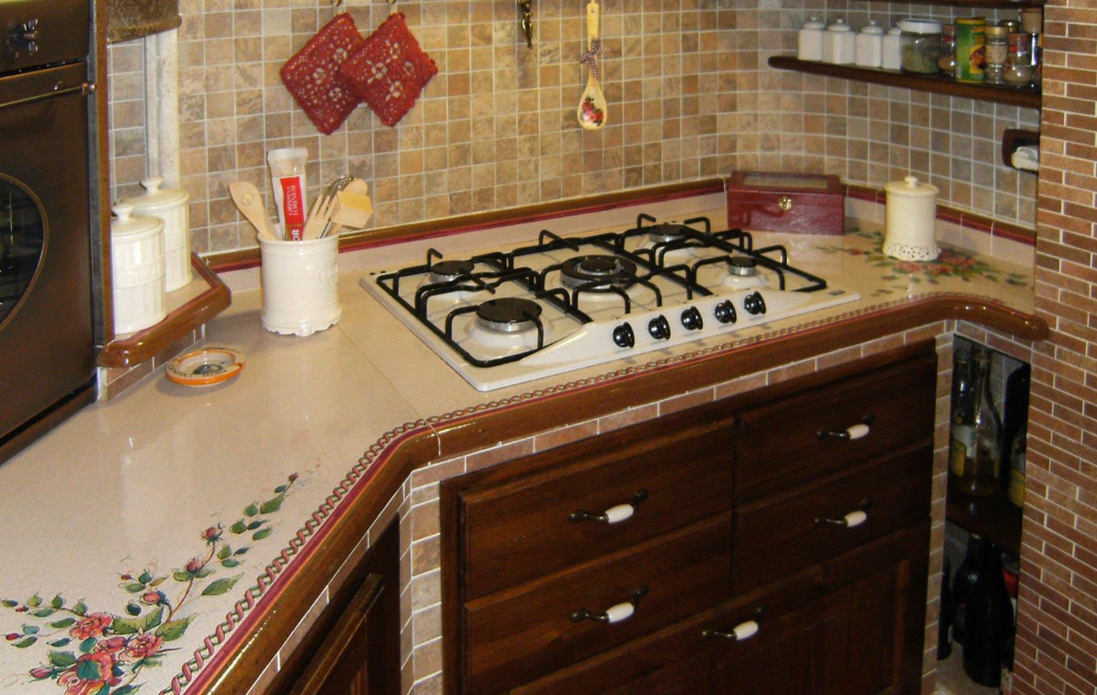 Cucine Rustiche in muratura smontabile | Modello Antica Sicilia