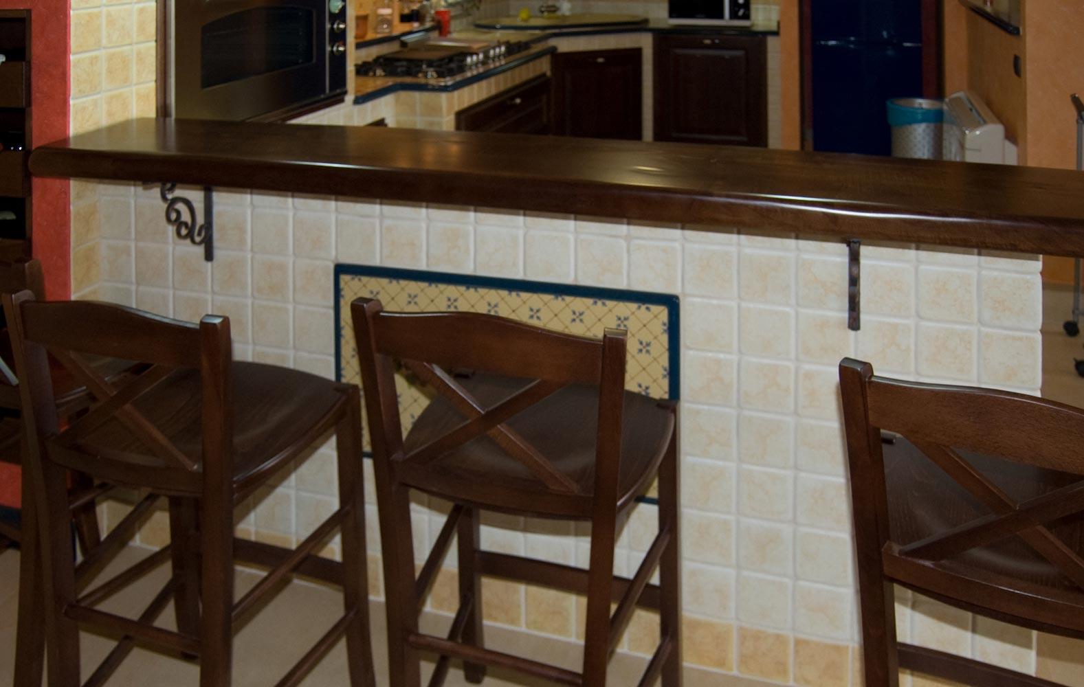 Piani Per Cucine In Muratura cucine in arte povera in muratura smontabile | modello