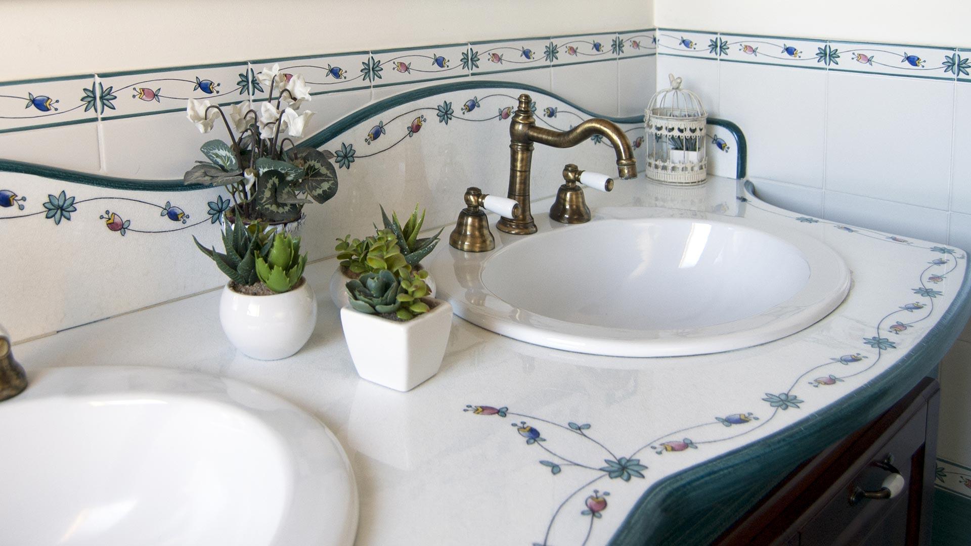 Piano Per Mobile Bagno top per mobili bagno in pietra lavica ceramizzata | artesole