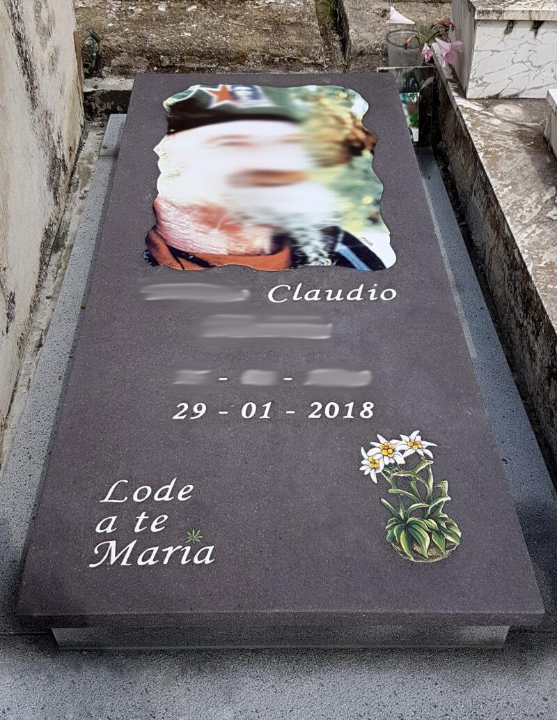 Balata Cimiteriale in pietra lavica