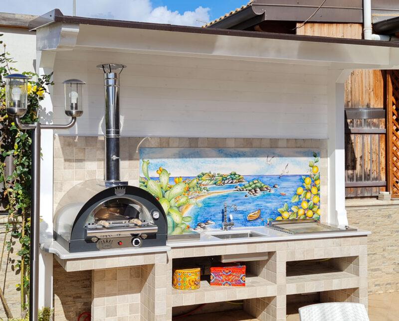 Barbecue con forno Clementi