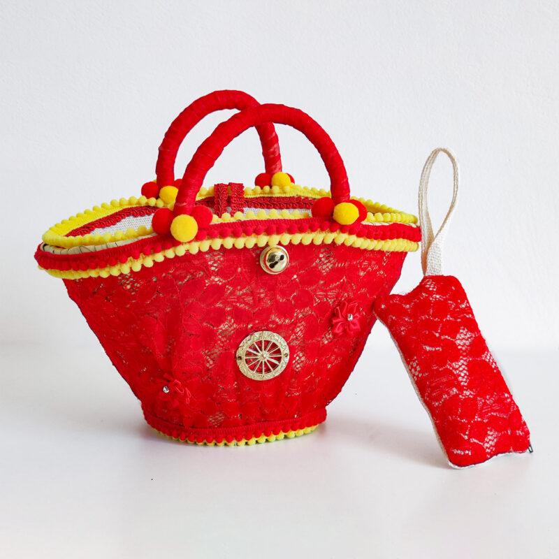 borsa siciliana rossa e gialla