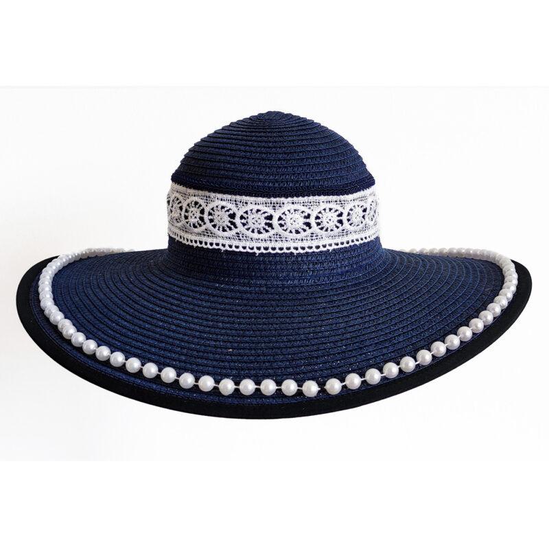 Cappello Blu artigianale