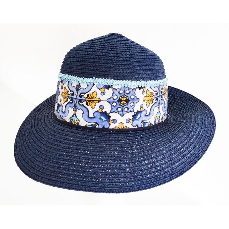 Cappello blu sicilia