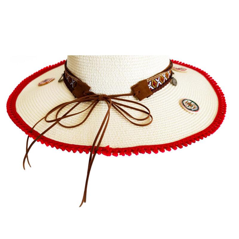 Cappello Siciliano con lacci