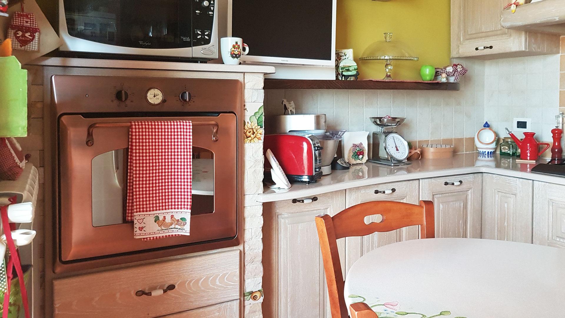 Forno Cucina In Muratura cucine in finta muratura modello messina | artesole
