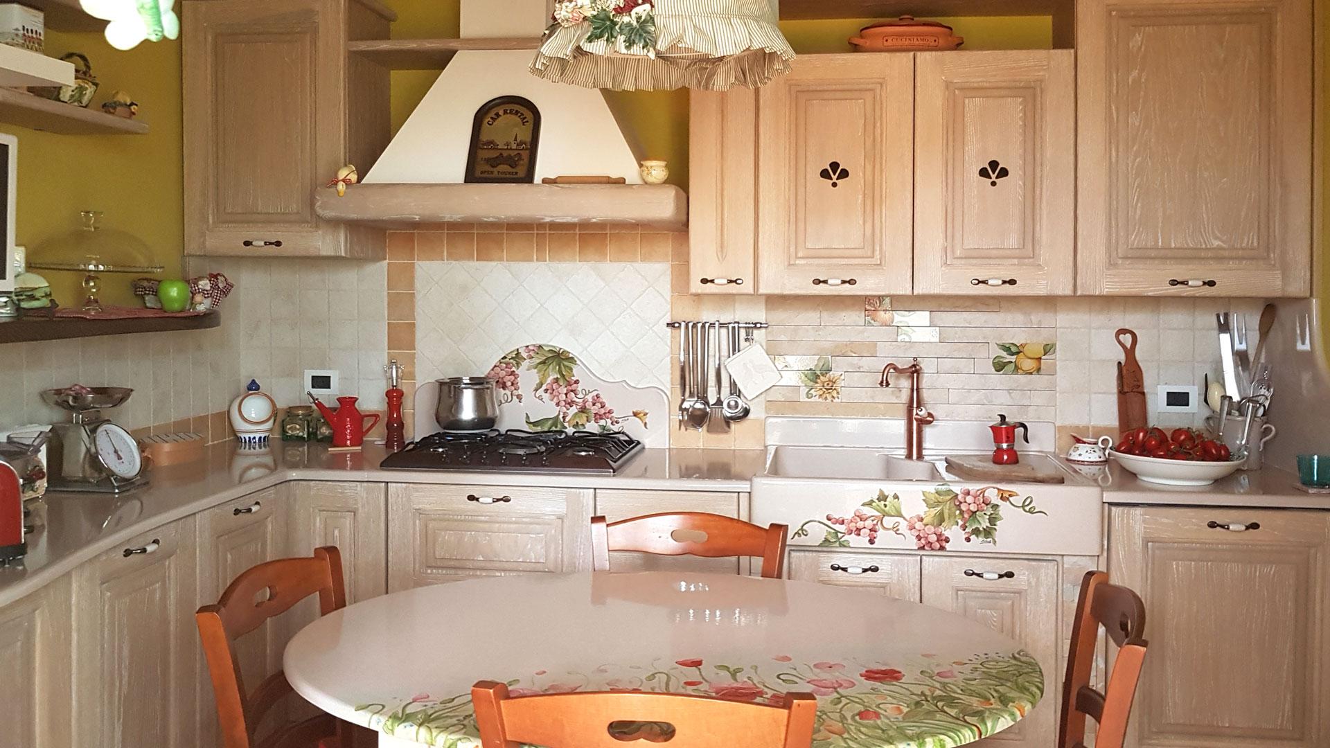 Cucine in Finta Muratura modello Messina | Artesole