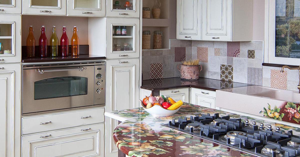 Cucine vintage realizziamo la tua cucina su misura - Arte sole cucine ...