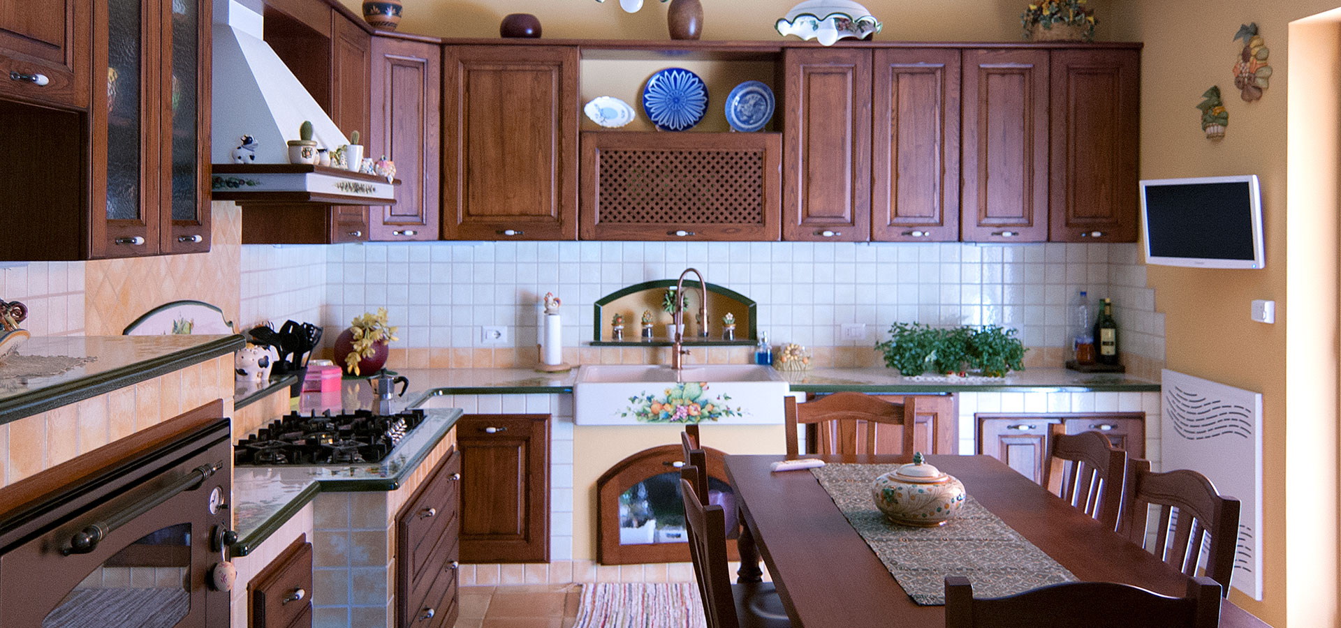 Cucine in muratura smontabile modello pescara artesole - Arte sole cucine ...
