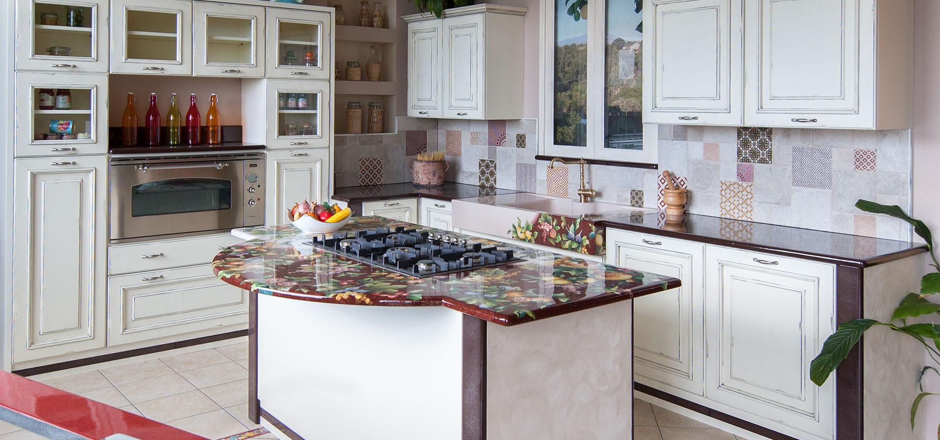 Cucine in muratura smontabili e su misura | Artesole