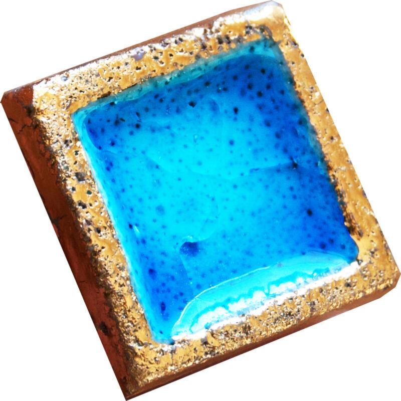 Mattonellina con oro Blu Mare