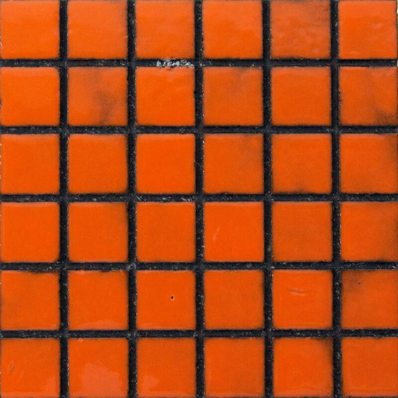 mattonella mosaico in pietra lavica monocolore