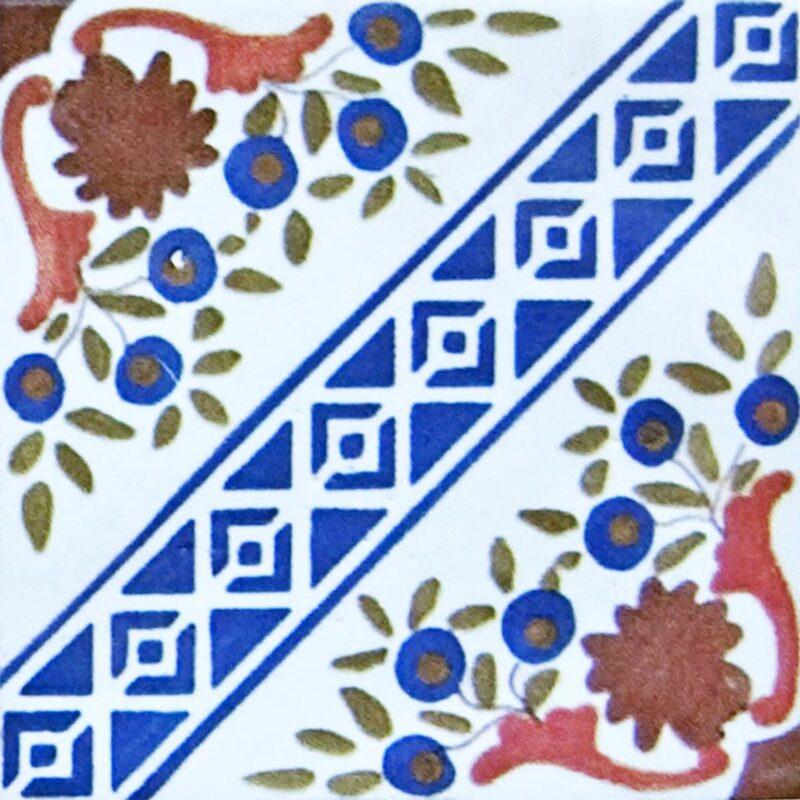 mattonella siciliana per rivestimenti