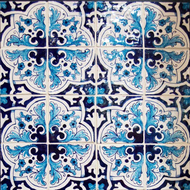 mattonelle in ceramica di Caltagirone