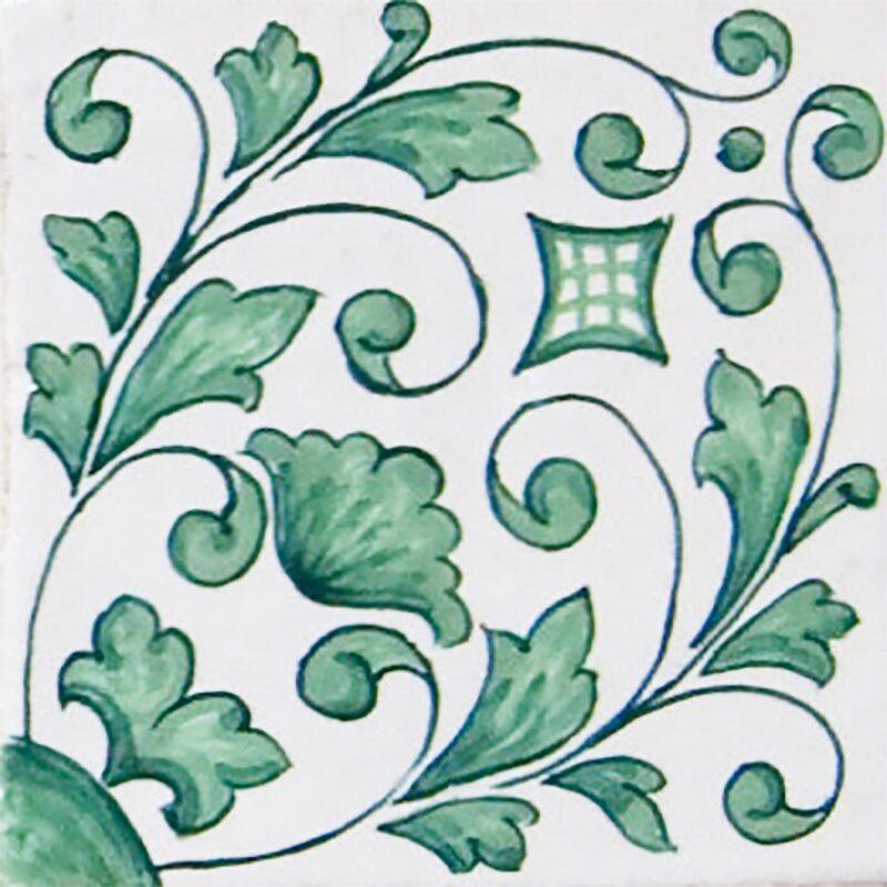 mattonella per rivestimenti in ceramica o in pietra lavica