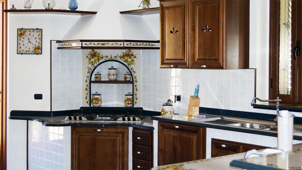 Cucine in muratura smontabili e su misura artesole
