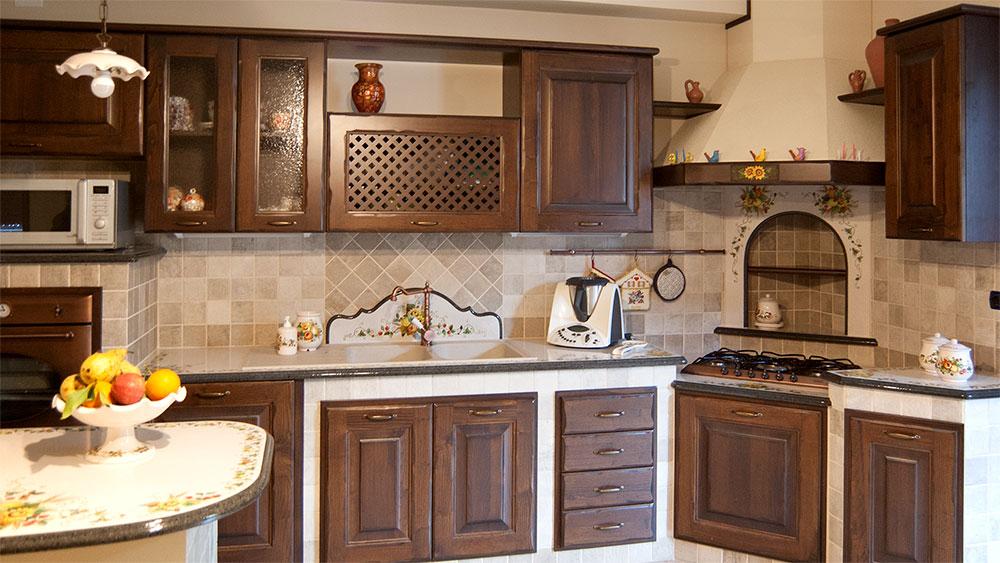 Cucine in muratura - Smontabili e su Progettazione | Artesole
