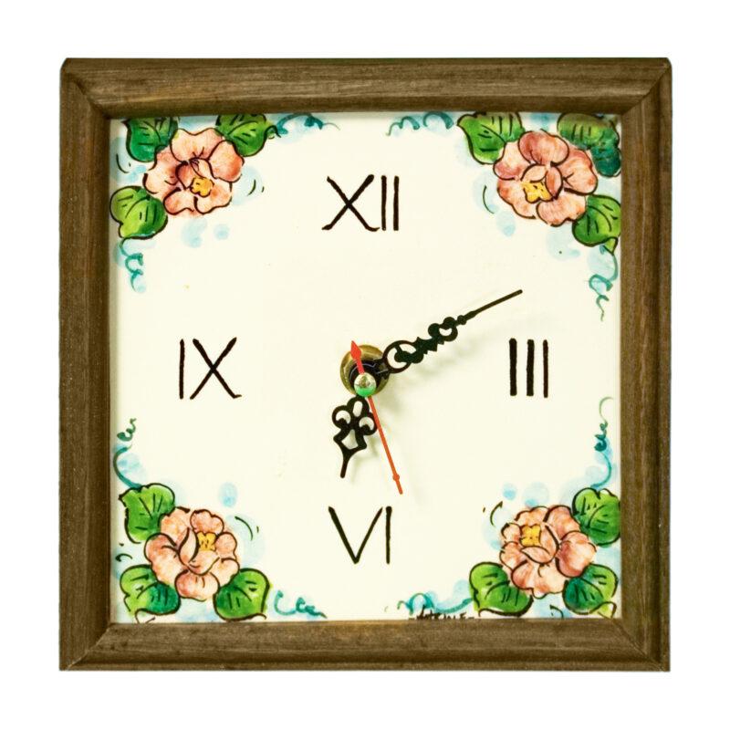 Orologio di piccole dimensione dipinto a mano