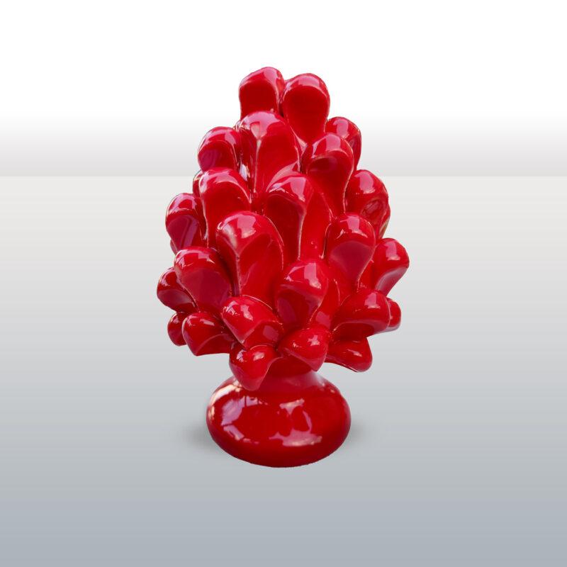 Pigna in ceramica rossa altezza 16