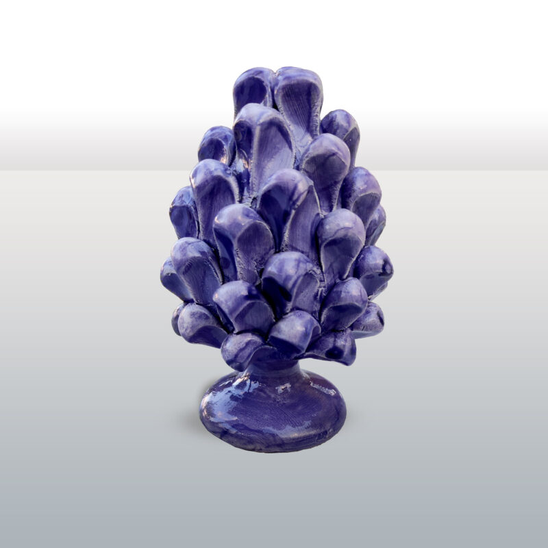Pigna in ceramica Viola h16