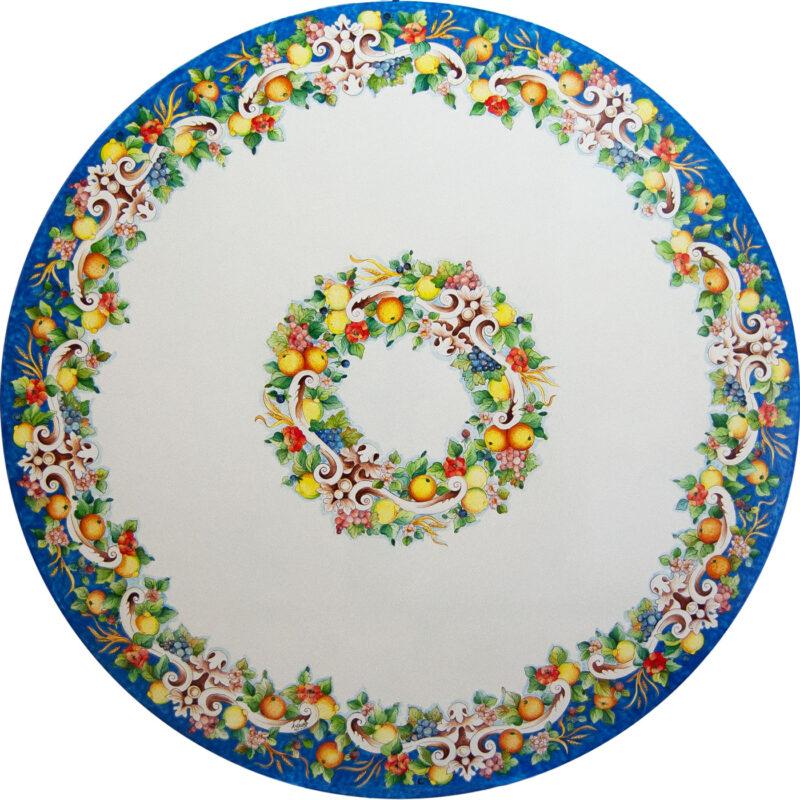 Tavoli Da Giardino Pietra Lavica.Tavoli In Pietra Lavica Decorati A Mano Info E Prezzi Artesole