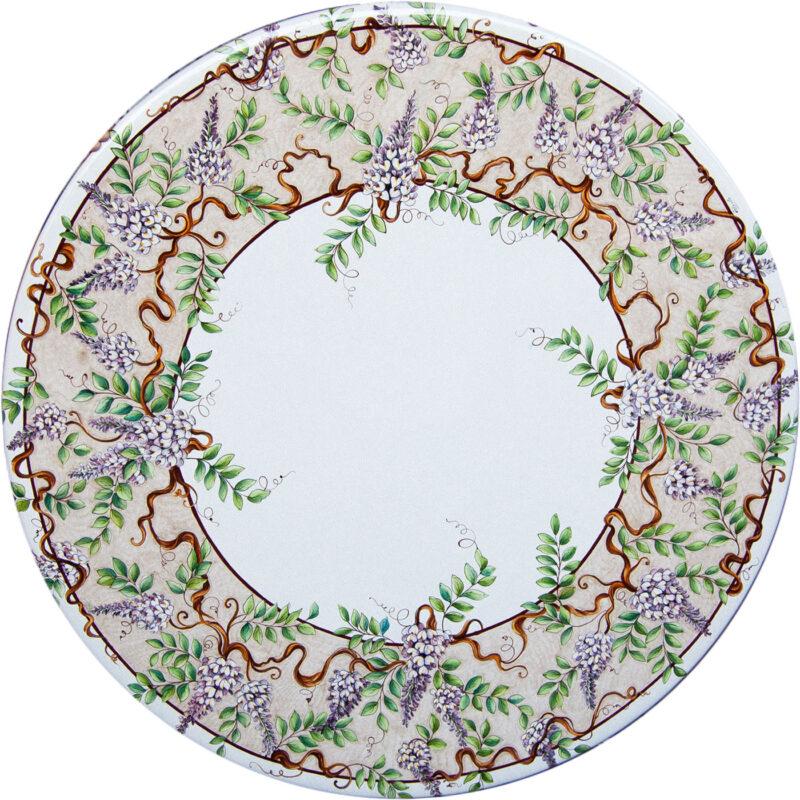Tavoli In Pietra Lavica Prezzi.Tavoli In Pietra Lavica Decorati A Mano Info E Prezzi Artesole