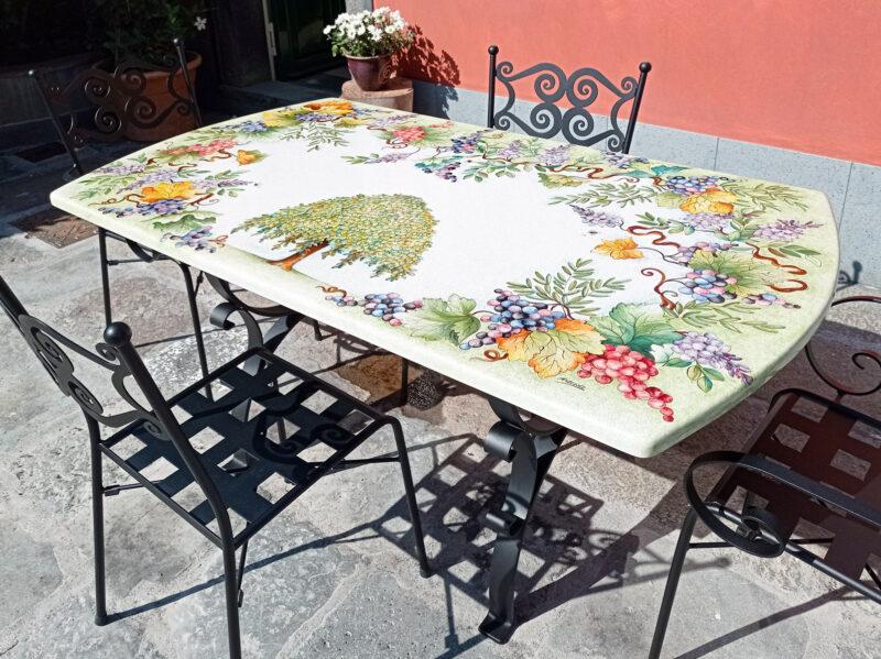 tavolo pietra lavica olmo maddalena
