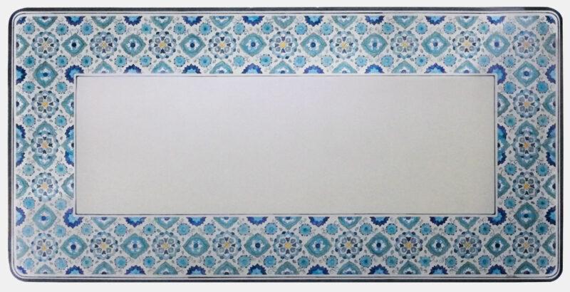Tavolo in Pietra Lavica rettangolare Made in Sicily